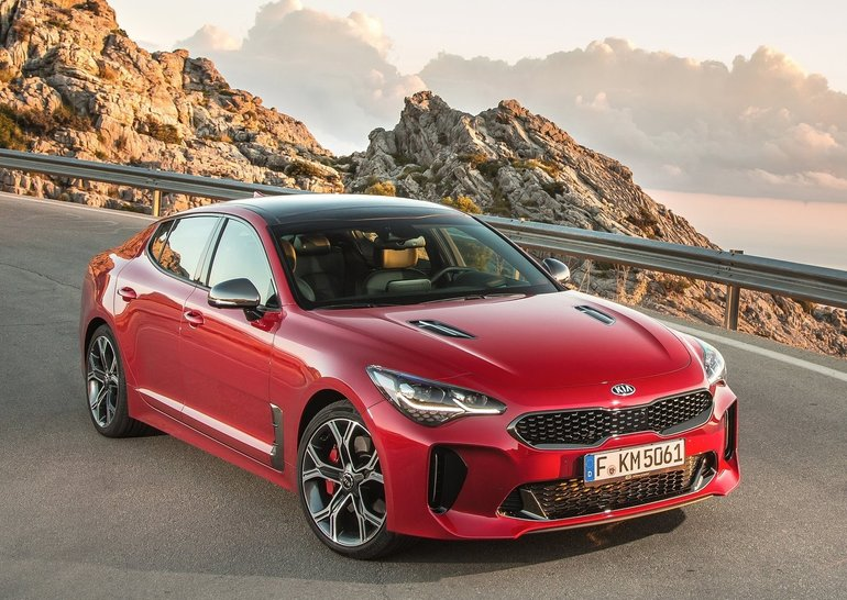 2018 Kia Stinger Gt An Incredible Look With The Performance That
