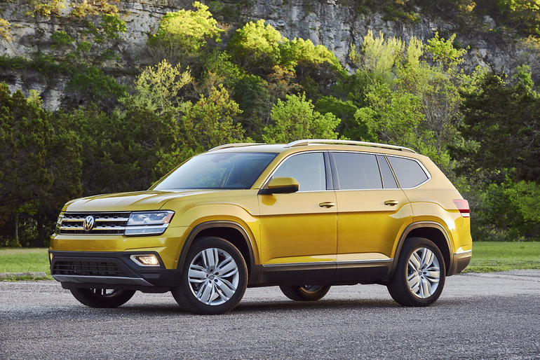 Les essais routiers du Volkswagen Atlas 2019