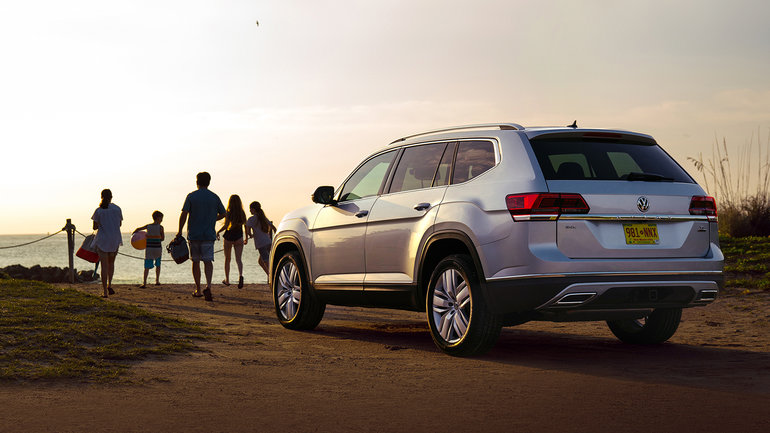 Volkswagen Atlas 2019 vs Honda Pilot 2019