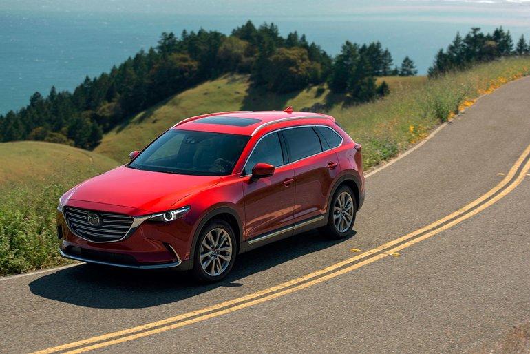 Mazda CX-9 2018 vs Honda Pilot vs Nissan Pathfinder
