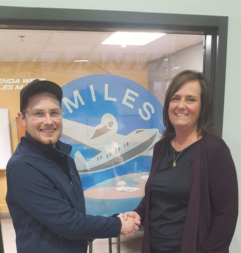 Winner of 5000 Air Miles (Pre-Owned) November