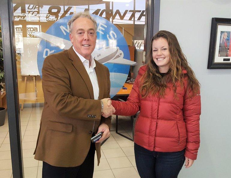 Winner of 5000 Air Miles (Pre-Owned) December