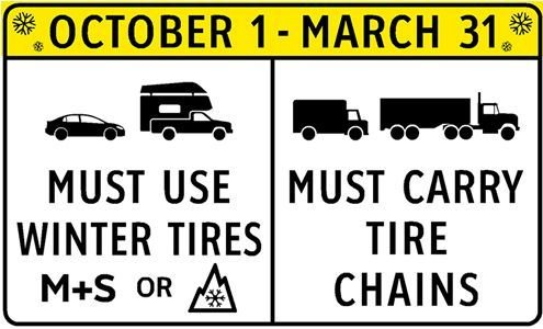 Winter Tire Requirements in BC