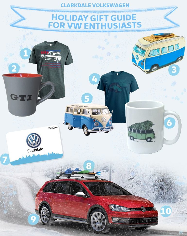 Holiday Gift Guide For VW Enthusiasts