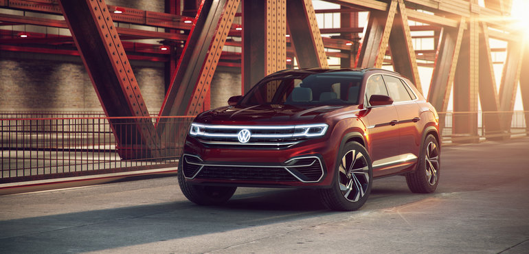 The Volkswagen Atlas Cross Coupe will arrive in 2019