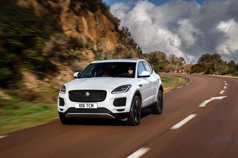 Jaguar E-Pace 2019 : un nouveau compétiteur