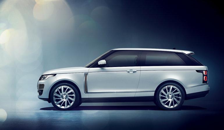 Trois choses à savoir sur le Range Rover SV Coupé