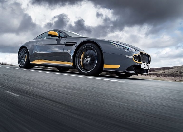 The Aston Martin Vantage V12 Could Be Worth a Lot One Day