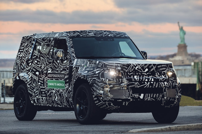 The Land Rover Defender will be back in 2020