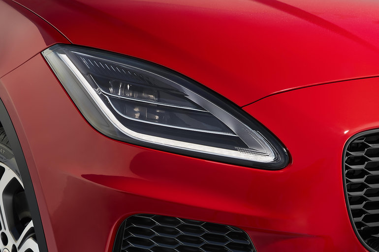 Jaguar is working on special headlights for autonomous vehicles