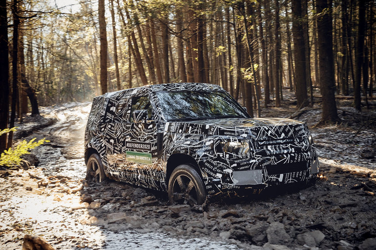Is Land Rover preparing a new Defender 90?
