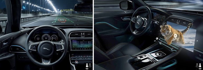Jaguar and Land Rover Develop Advanced HUD System