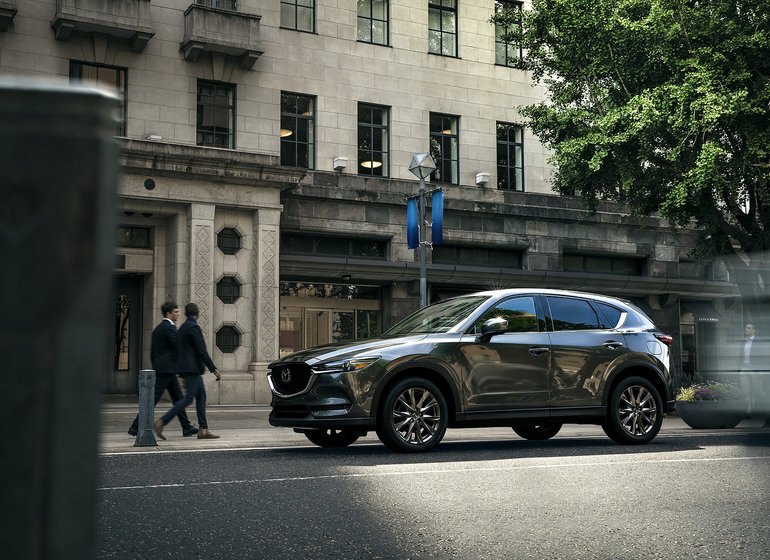 The 2019 Mazda CX-5 Signature has the luxury you want