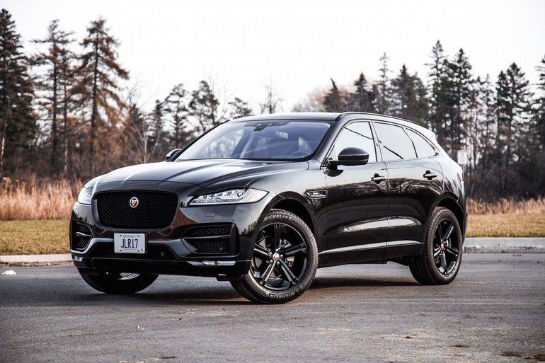 2018 Jaguar F-PACE: Luxury Crossover