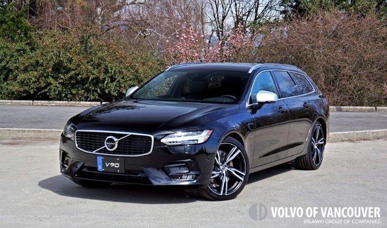 2018 Volvo V90 T6 AWD R-Design Road Test Review
