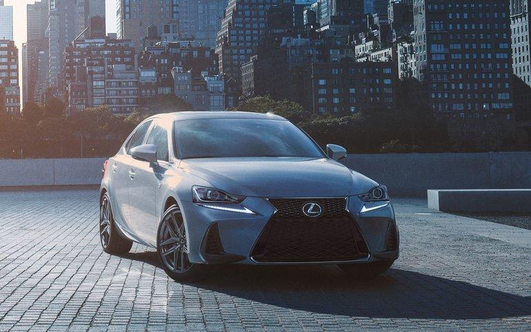 The 2018 Lexus IS