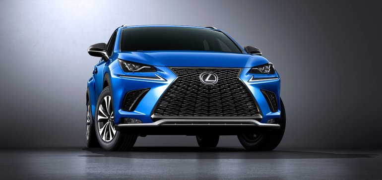 2018 Lexus NX Revealed at Shanghai Motor Show