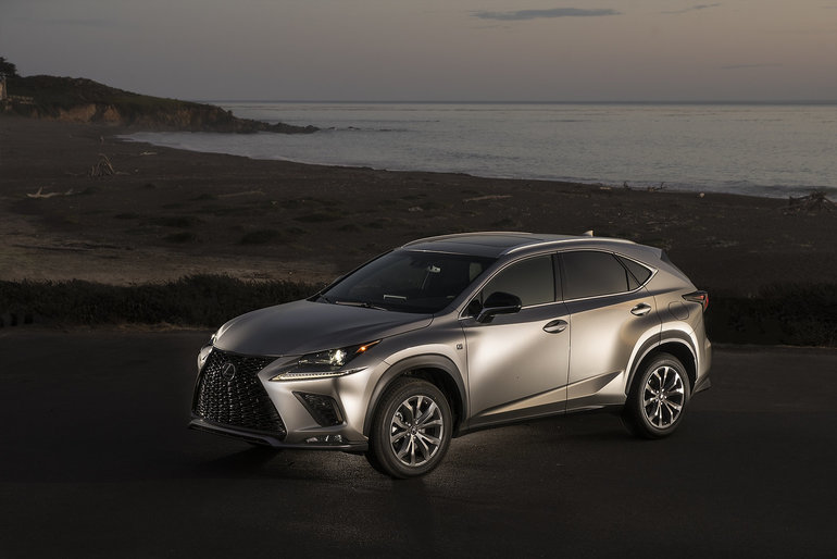 The Lexus NX Compact Luxury SUV Will be Built in Canada