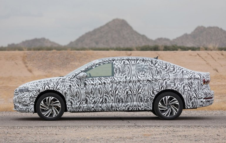 The 2019 Volkswagen Jetta Will Be Unveiled in January