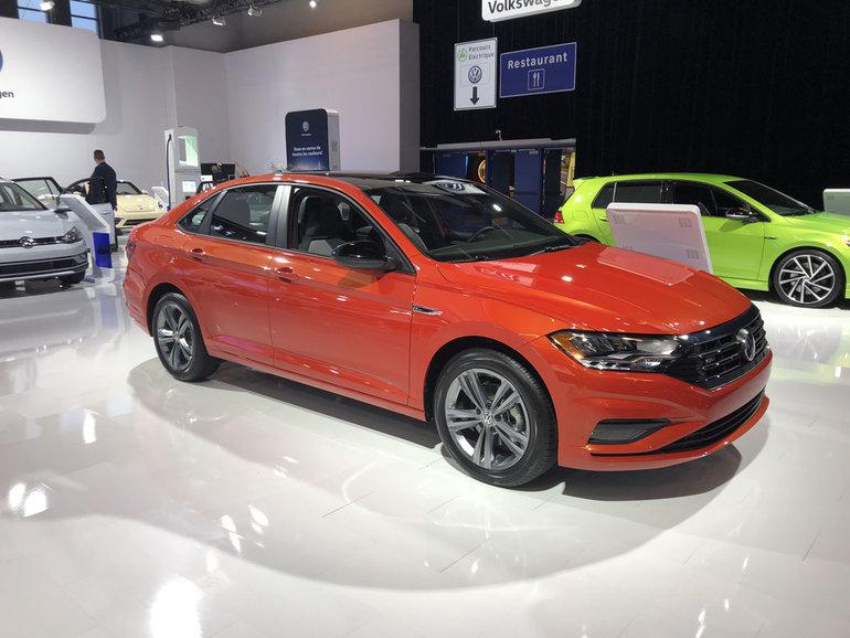 Voyez la Volkswagen Jetta 2019 au Salon de l'auto de Montréal
