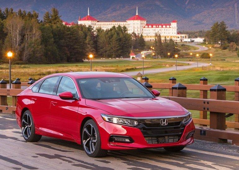 La Honda Accord 2018 est la Voiture canadienne de l'année selon l'AJAC