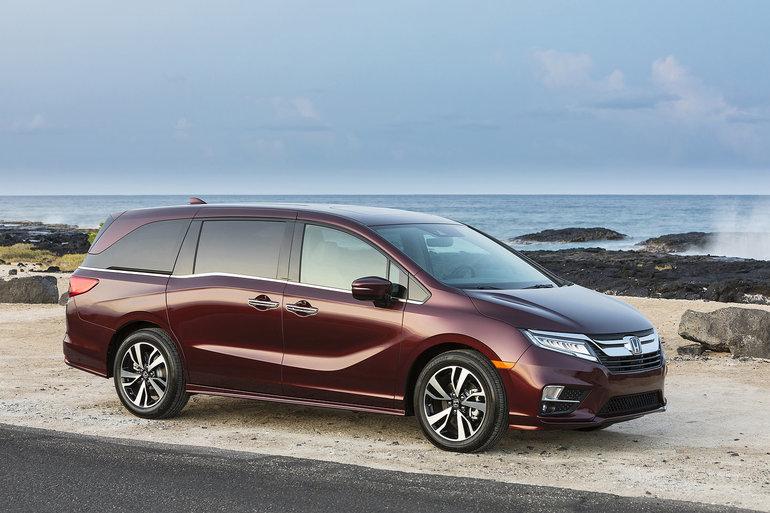 Honda Odyssey 2019 : Une minifourgonnette différente