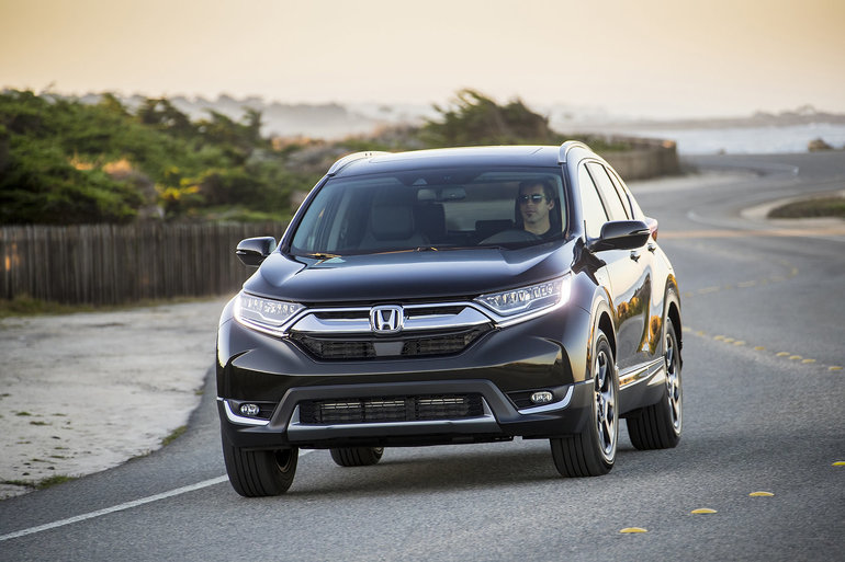 The 2019 Honda CR-V is adapted to the needs of families here