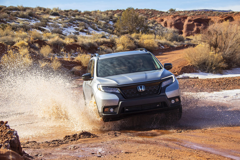 The 2019 Honda Passport is ready for all-weather fun