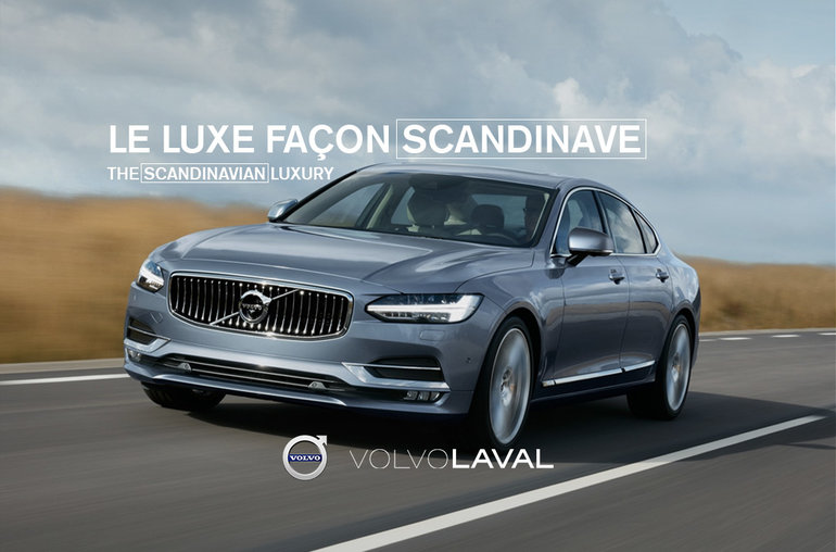 The 2018 Volvo S90 or the Scandinavian luxury