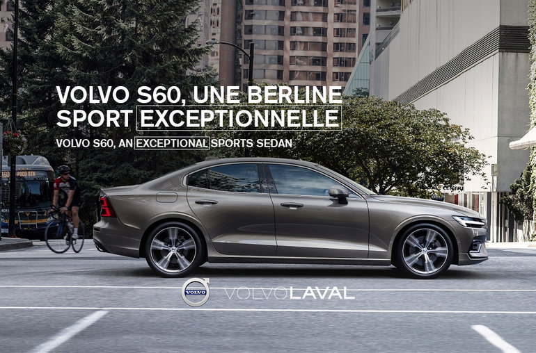 Volvo S60, an Exceptional Sports Sedan