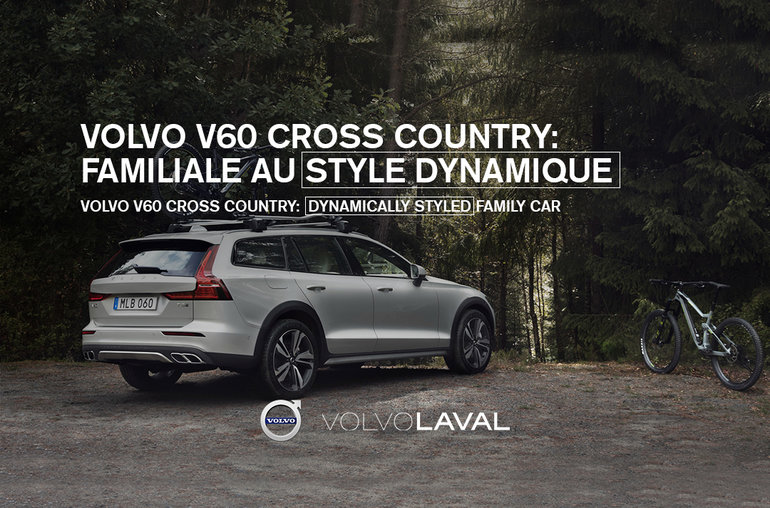 The 2019 Volvo V60 Cross Country: Dynamically Styled Family Car