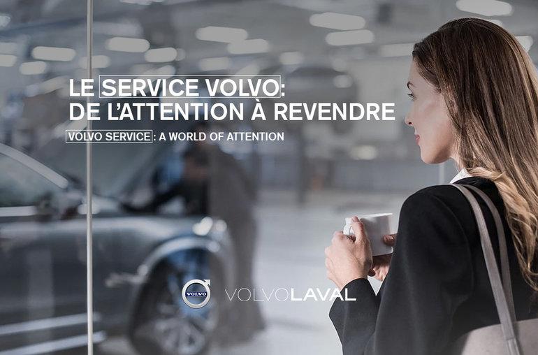 Le Service Volvo: de l'attention à revendre