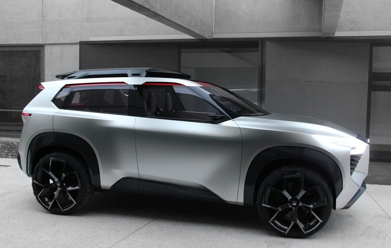 Nissan Xmotion Concept: a Future Nissan SUV Presented in Detroit