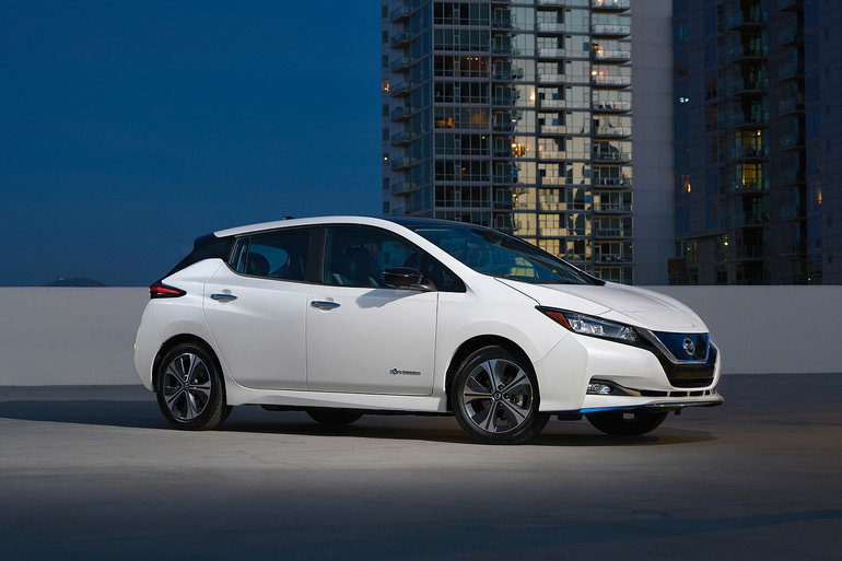 The Nissan LEAF eligible for the $ 5,000 iZEV rebate on May 1st