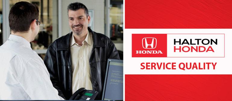 Honda Service Quality