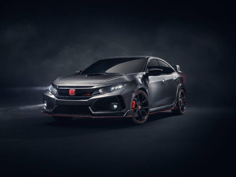 Voici la nouvelle Honda Civic Type R : la voiture des passionnés