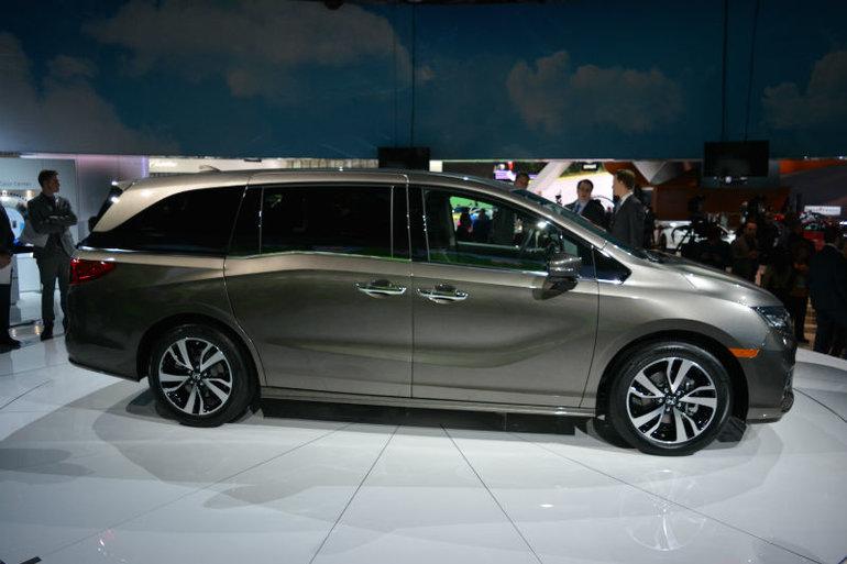La nouvelle Honda Odyssey 2018 voit le jour au Salon de l'Auto de Détroit