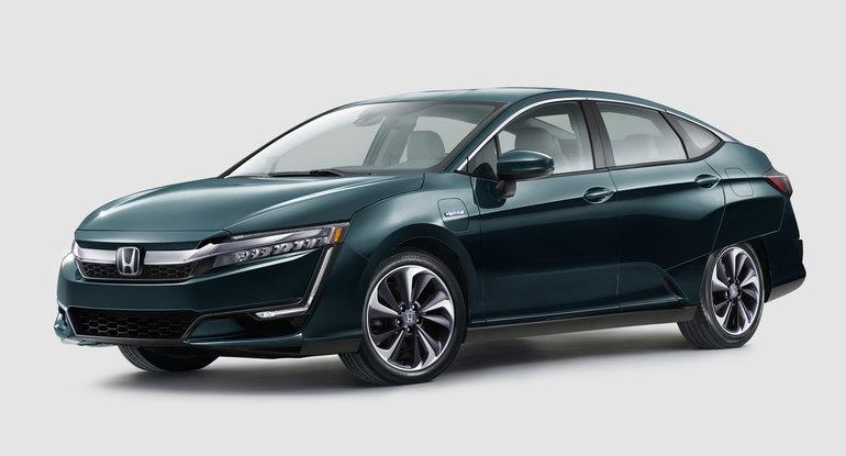 La Honda Clarity fait ses débuts au Salon de l'auto de New York