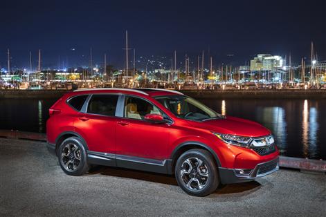 Le Honda CR-V 2017 demeure au sommet