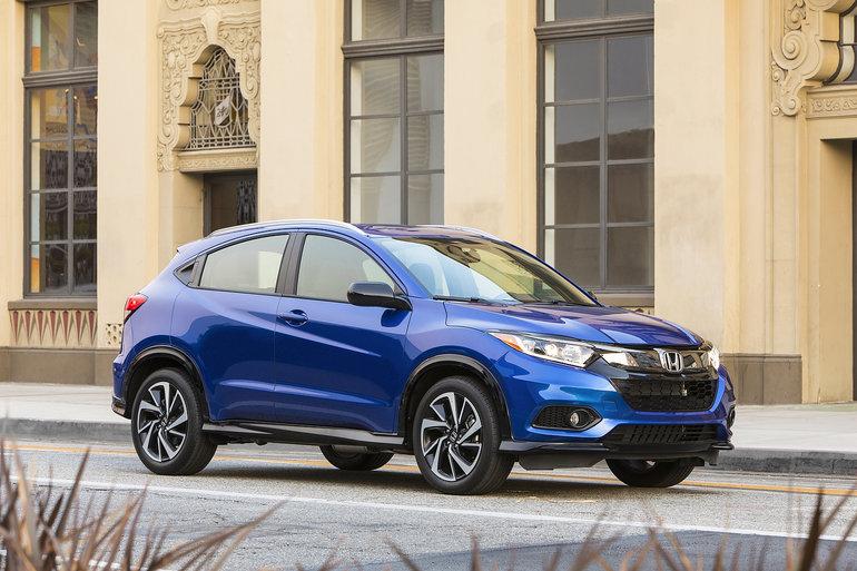 Honda HR-V 2019 : des améliorations notables
