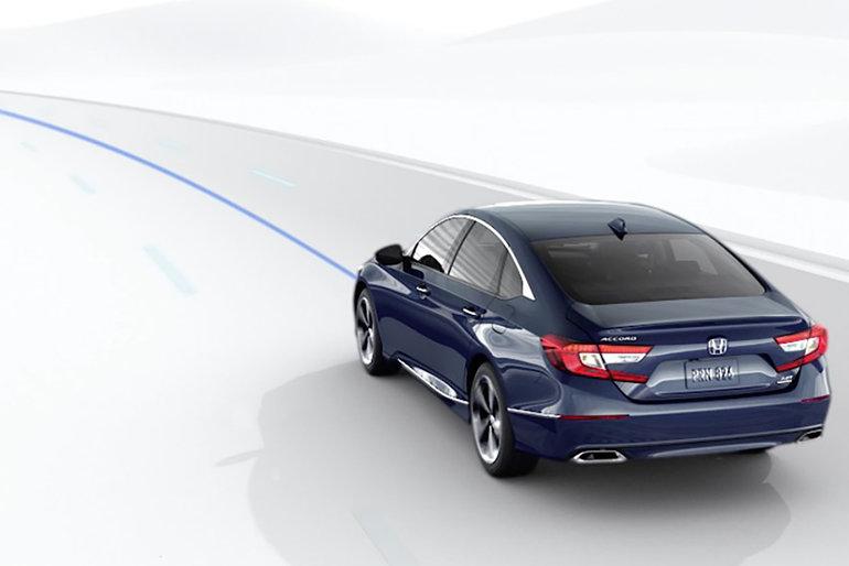 Demeurez en sécurité sur la route grâce à Honda Sensing