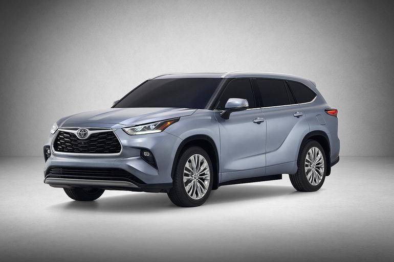 Le nouveau Toyota Highlander 2020 fait ses débuts à New York