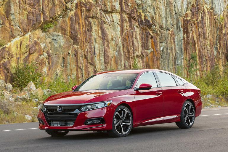 Honda Accord 2019 : une berline couronnée de succès