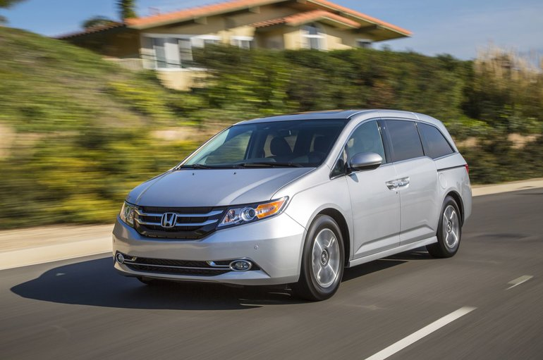 Honda Odyssey 2015, perfection sur roues