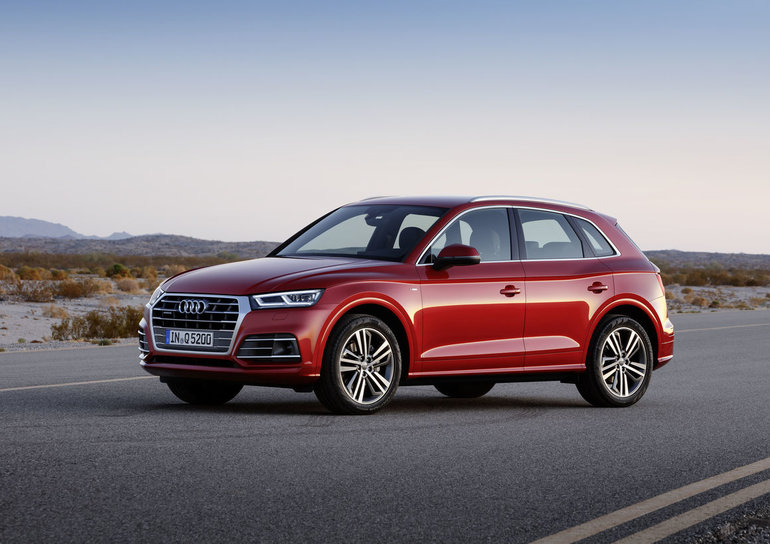 Three ways the Audi Q5 stands out from the Mercedes-Benz GLC