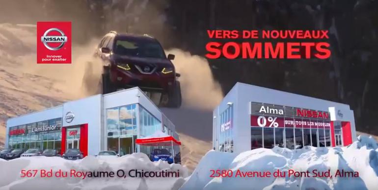 Mon choix de Nissan - Rogue, Juke 2016
