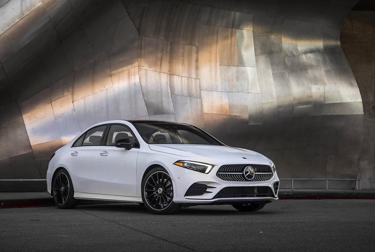 The Mercedes-Benz A-Class has arrived in Canada