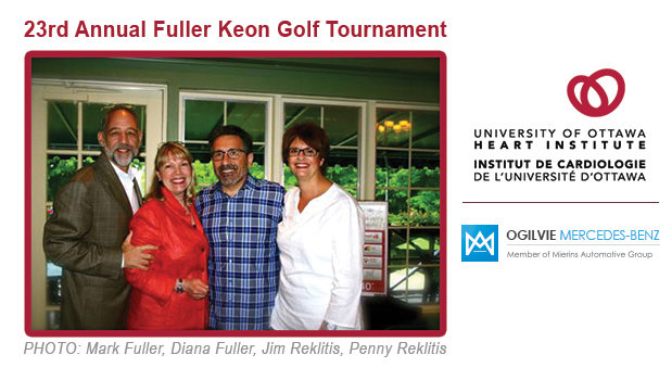 The University of Ottawa Heart Institute's 23rd Annual Fuller Keon Golf Tournament