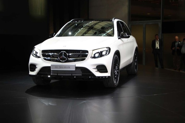 The 2016 Mercedes-Benz GLC unveiled in Germany