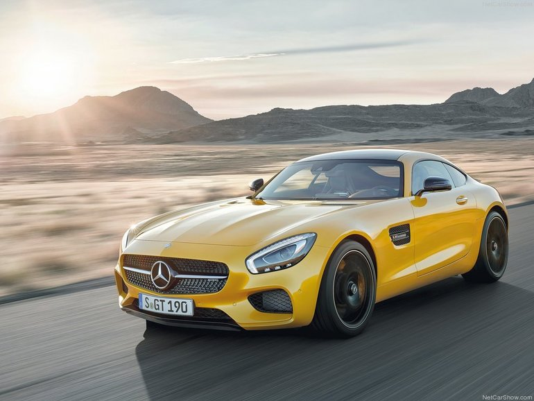 2016 Mercedes-AMG GT S: Because #racecar